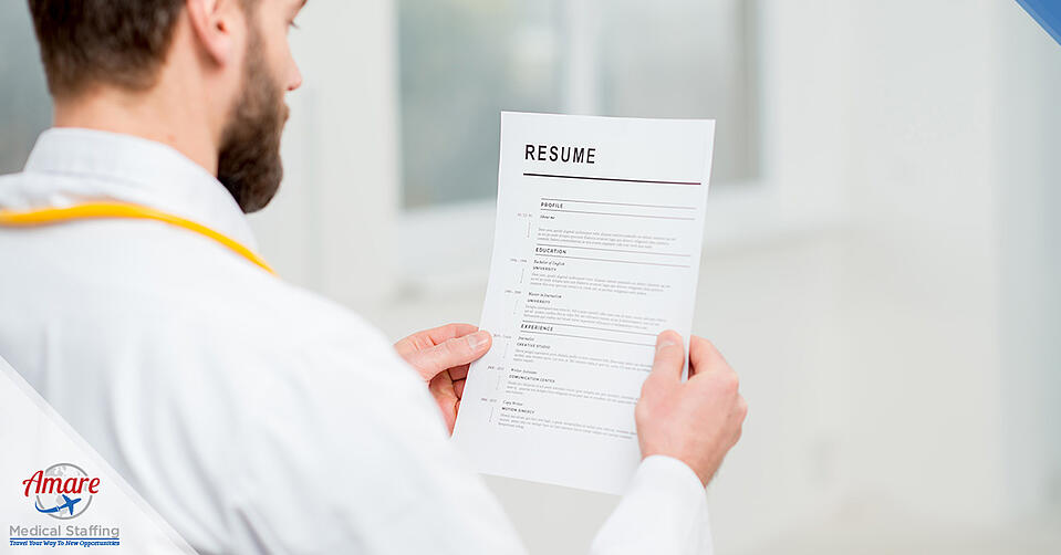 The Latest Resume Tips for Traveling Nurses